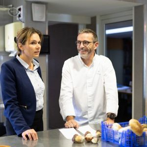 Backstage reportage culinaire