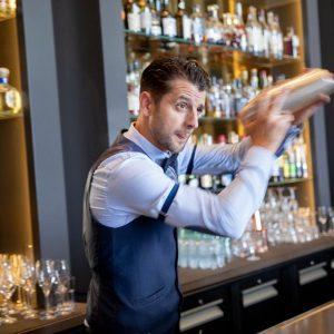 Portrait barman