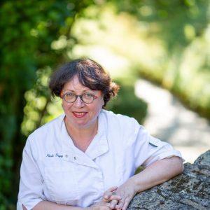 Portrait de la cheffe Nicole Fagegaltier