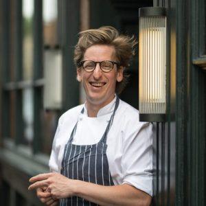 Portrait du chef Neil Borthwick
