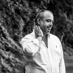 Portrait du chef David Burgarella