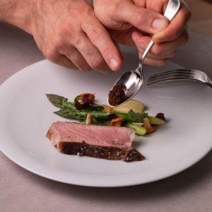 Préparation de la cuisine des chefs