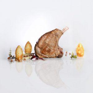 Plat de veau d'Aveyron proche du Tarn