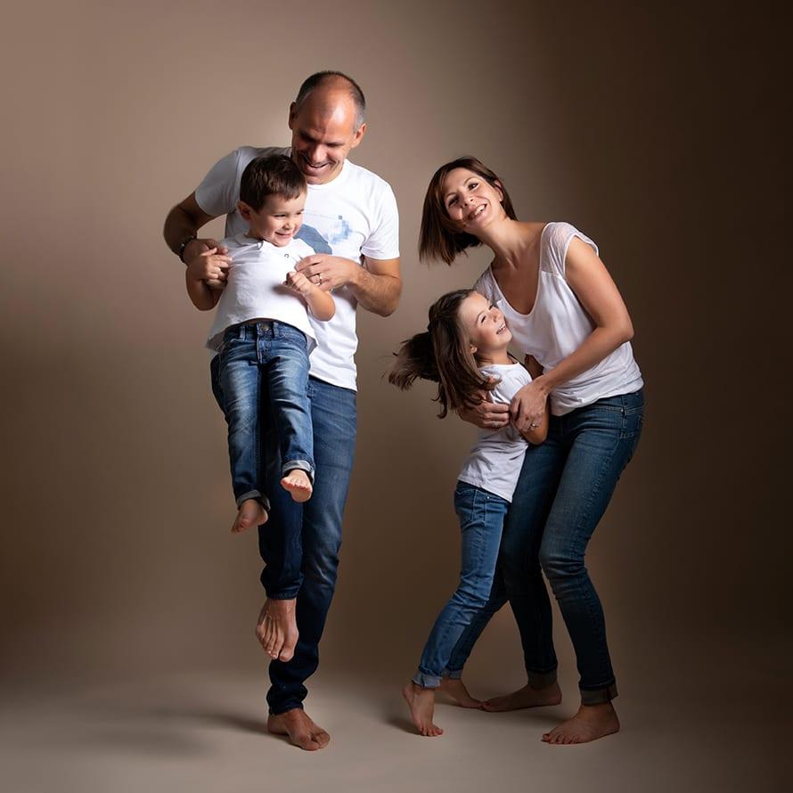 Photographie de famille en aveyron