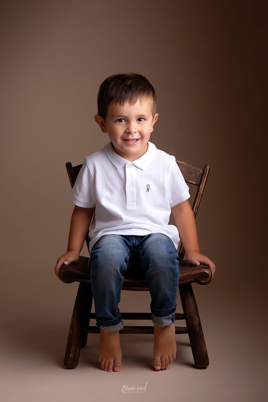 Portrait enfant proche du tarn