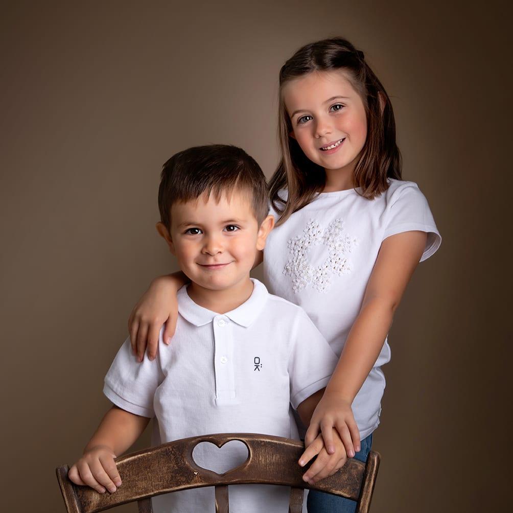 Photographe famille et fratrie proche d'albi